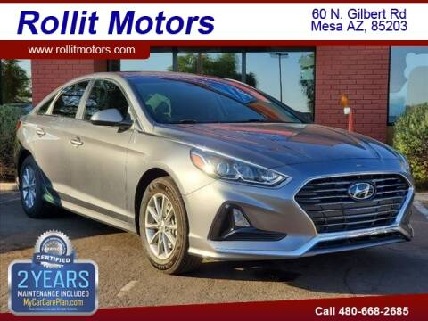 2019 Hyundai Sonata for sale at Rollit Motors in Mesa AZ