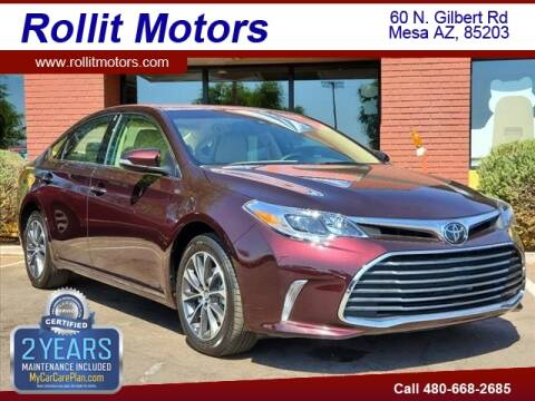 2017 Toyota Avalon for sale at Rollit Motors in Mesa AZ