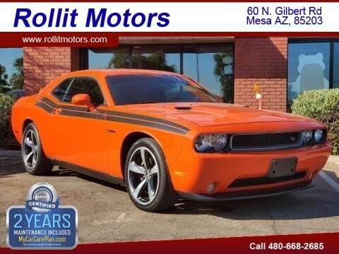 2013 Dodge Challenger for sale at Rollit Motors in Mesa AZ