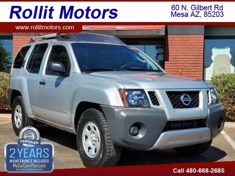 2012 Nissan Xterra for sale at Rollit Motors in Mesa AZ