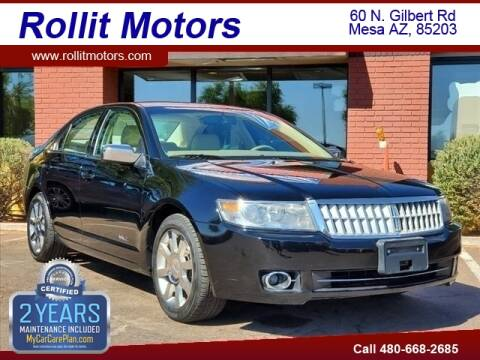 2007 Lincoln MKZ for sale at Rollit Motors in Mesa AZ