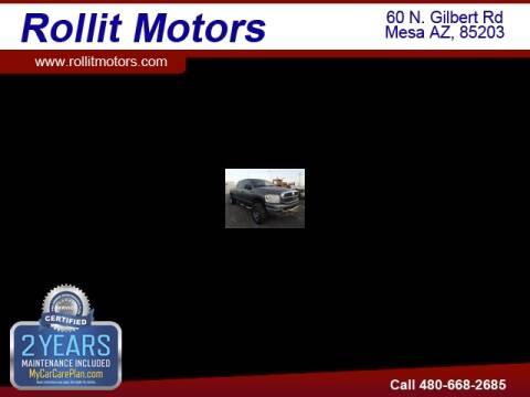 2007 Dodge Ram Pickup 2500 for sale at Rollit Motors in Mesa AZ