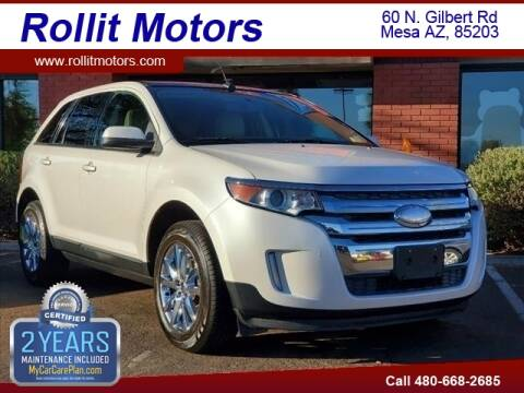 2013 Ford Edge for sale at Rollit Motors in Mesa AZ