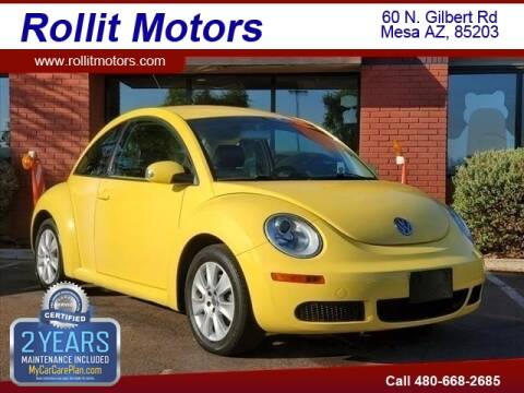 2009 Volkswagen New Beetle for sale at Rollit Motors in Mesa AZ