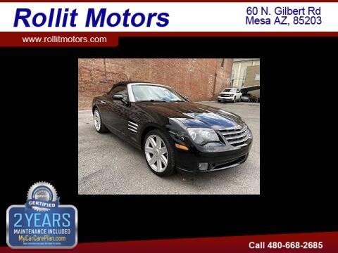 2005 Chrysler Crossfire for sale at Rollit Motors in Mesa AZ