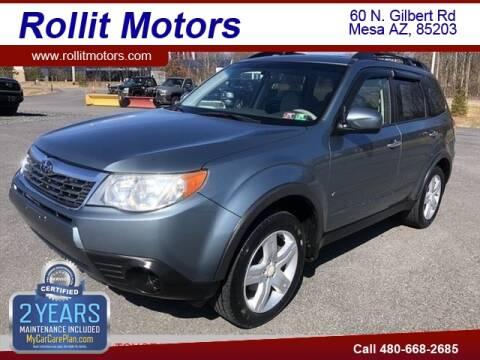 2009 Subaru Forester for sale at Rollit Motors in Mesa AZ