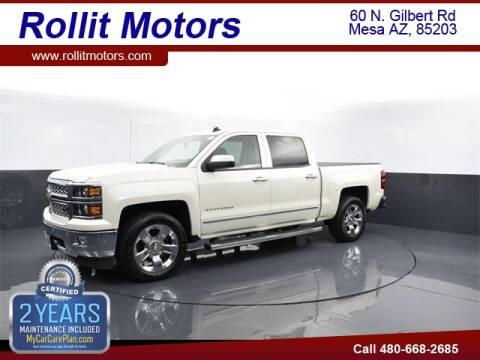 2014 Chevrolet Silverado 1500 for sale at Rollit Motors in Mesa AZ