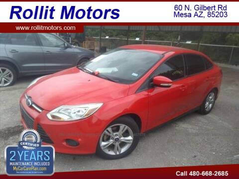 2014 Ford Focus for sale at Rollit Motors in Mesa AZ
