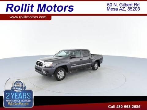 2013 Toyota Tacoma for sale at Rollit Motors in Mesa AZ