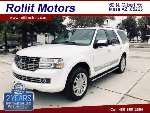 2011 Lincoln Navigator for sale at Rollit Motors in Mesa AZ