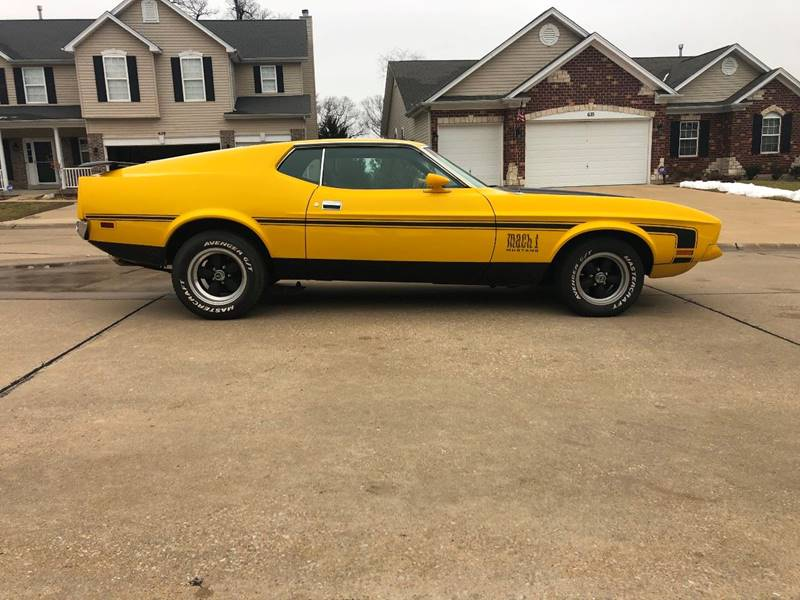 1972 Ford Mustang Mach 1 Fastback - Imperial MO