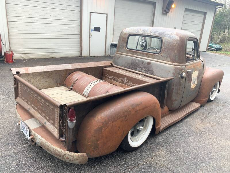 1950 GMC 100 Shortbed Rat Rod Shop Truck - Imperial MO