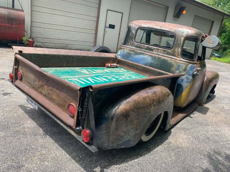 1953 GMC 100 Air Bag Patina Shop Truck - Imperial MO