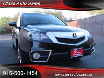 2010 Acura RDX for sale in Sacramento, CA