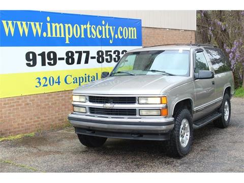1998 Chevrolet Tahoe for sale in Raleigh, NC