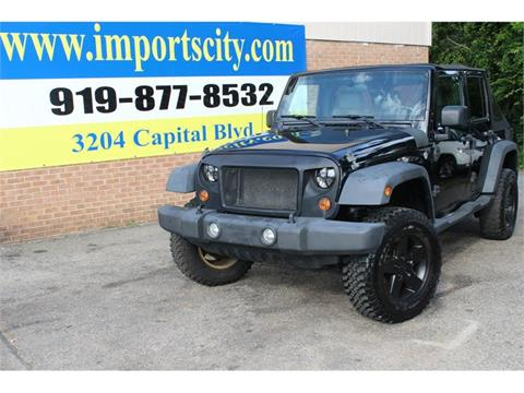 2007 Jeep Wrangler Unlimited for sale in Raleigh, NC