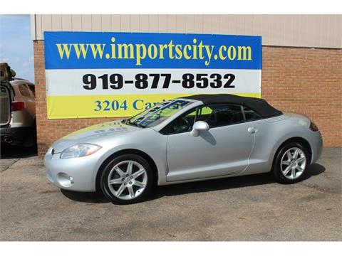 2007 Mitsubishi Eclipse Spyder for sale in Raleigh, NC