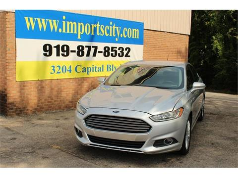 2014 Ford Fusion Hybrid for sale in Raleigh, NC