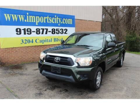 2014 Toyota Tacoma for sale at Imports City of Raleigh in Raleigh NC