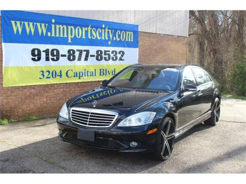 2007 Mercedes-Benz S-Class S 550 4MATIC for sale at Imports City of Raleigh in Raleigh NC