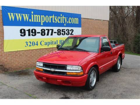 2000 Chevrolet S-10 for sale at Imports City of Raleigh in Raleigh NC