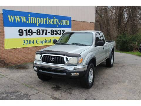 2001 Toyota Tacoma V6 for sale at Imports City of Raleigh in Raleigh NC