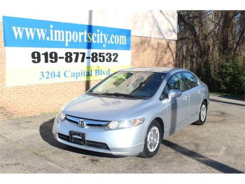 2008 Honda Civic for sale at Imports City of Raleigh in Raleigh NC