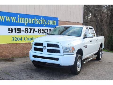 2015 RAM Ram Pickup 2500 Tradesman for sale at Imports City of Raleigh in Raleigh NC