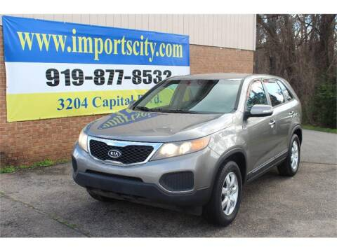 2011 Kia Sorento LX for sale at Imports City of Raleigh in Raleigh NC