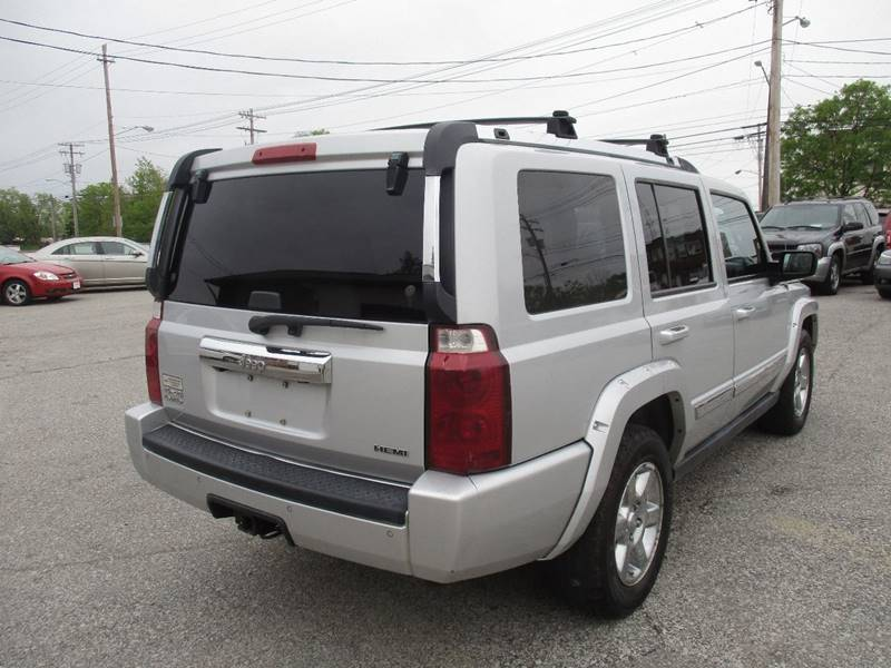 2008 Jeep Commander 4x4 Limited 4dr SUV - Maple Heights OH