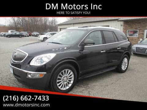 2009 Buick Enclave CXL for sale at DM Motors Inc in Maple Heights OH