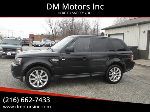 2013 Land Rover Range Rover Sport HSE LUX for sale at DM Motors Inc in Maple Heights OH