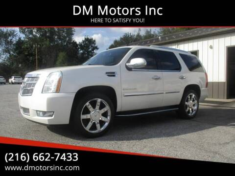 2009 Cadillac Escalade for sale at DM Motors Inc in Maple Heights OH