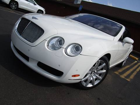 2008 Bentley Continental Gt For Sale Carsforsale Com