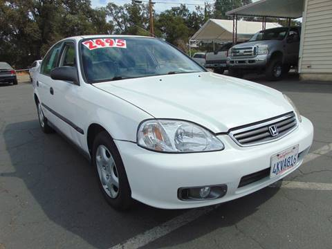 2000 Honda Civic for sale in Roseville, CA