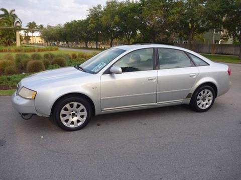 2000 Audi A6 for sale in Fort Lauderdale, FL