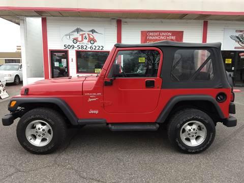 2001 Jeep Wrangler for sale in Kennewick, WA