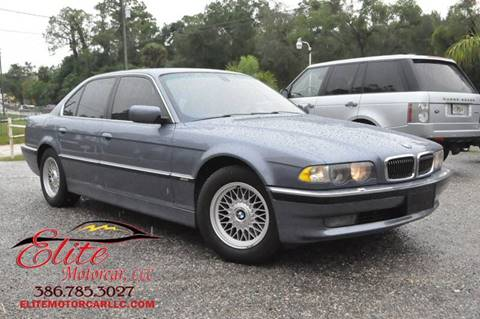 2001 BMW 7 Series for sale in Deland, FL