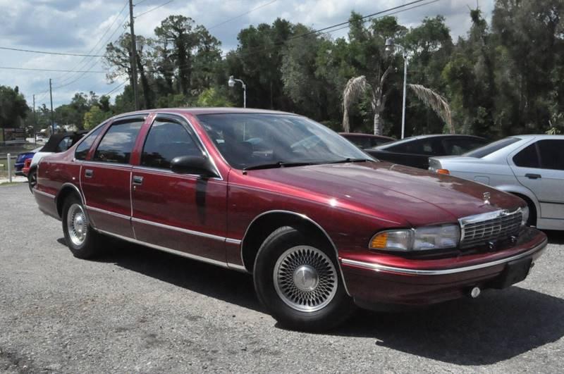 1995 chevrolet caprice 4dr sedan in deland fl elite motorcar llc rh elitemotorcarllc com