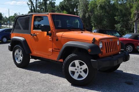 2012 Jeep Wrangler for sale in Deland, FL