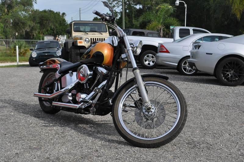 1999 Harley-Davidson Softtail Custom for sale at Elite Motorcar, LLC in Deland FL