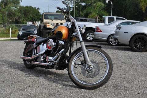 1999 Harley-Davidson Softtail Custom for sale at Elite Motorcar, LLC in Deland FL