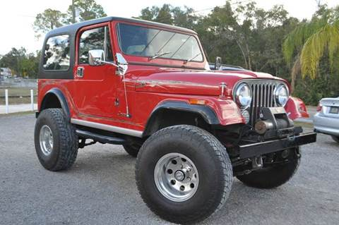 1986 Jeep CJ-7 for sale at Elite Motorcar, LLC in Deland FL