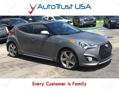 2014 Hyundai Veloster Turbo for sale in Miami, FL