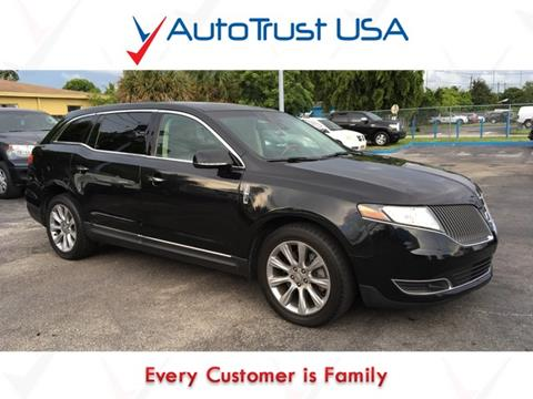 2013 Lincoln MKT for sale in Miami, FL