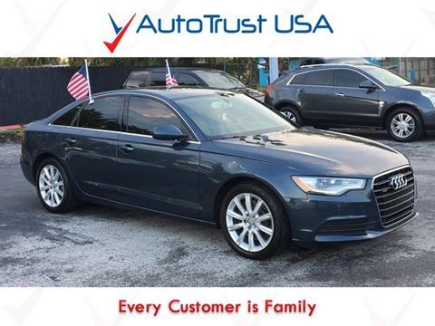 2014 Audi A6 for sale in Miami, FL