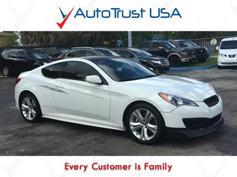 2012 Hyundai Genesis Coupe for sale in Miami, FL