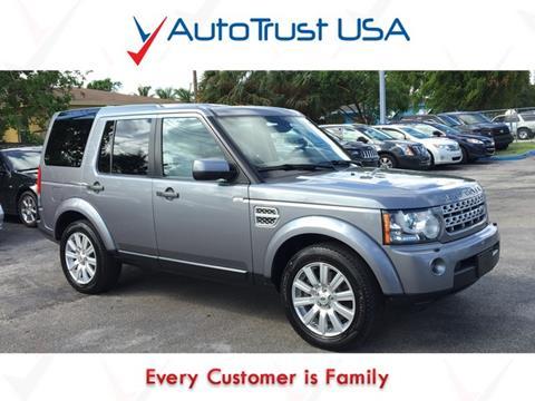 2012 Land Rover LR4 for sale in Miami, FL