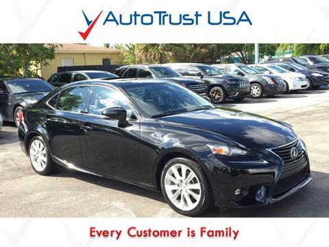 2015 Lexus IS 250 for sale in Miami, FL