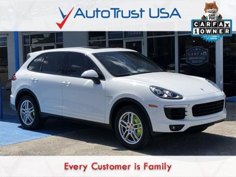 2016 Porsche Cayenne for sale in Miami, FL